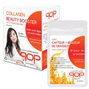 Pack 1 boite Collagen + 1 Brûleur de graisses