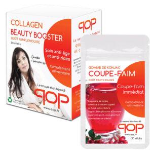 Pack 1 boite Collagen + 1 Coupe-faim